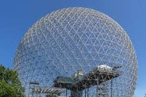 The Biosphere and the Exponential Function