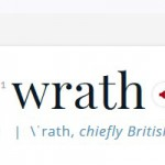 Wrath bei Merriam-Webster