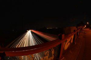 Autobahn mit Weitwinkelobjektiv