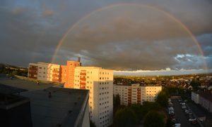 Ganzer Regenbogen