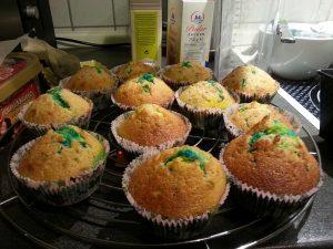 Cupcakes beim Abkühlen