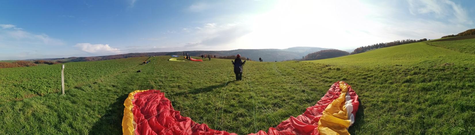 Paragliding-Hang