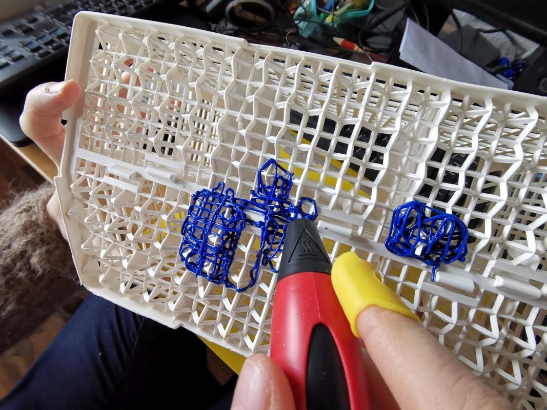 3D-Druck auf Besteckkorb
