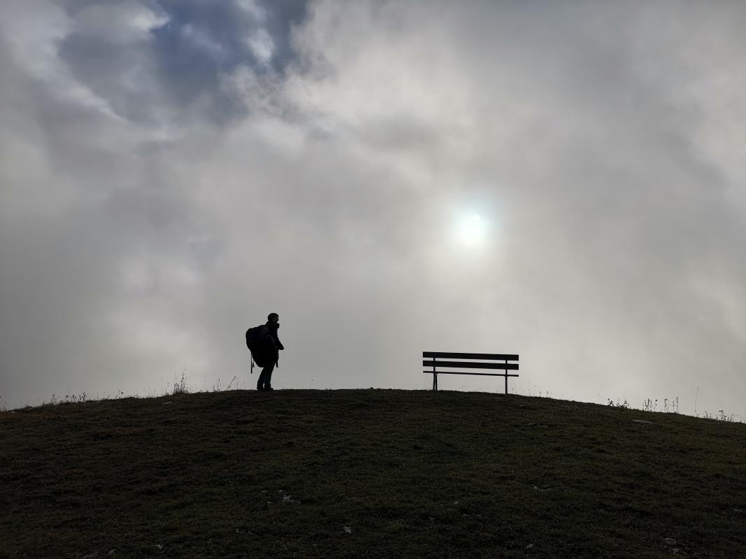 Nebel auf der Jöchelspitze
