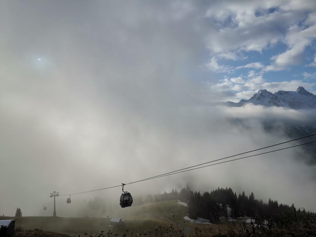 Nebel Jöchelspitze