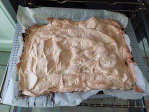 Rhabarberkuchen fertig